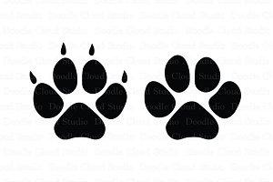 Pet Paw SVG Files, Dog svg Files