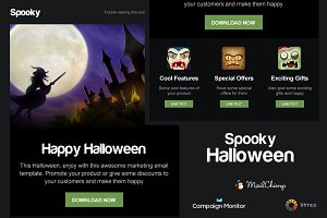 Spooky - Halloween Email Template