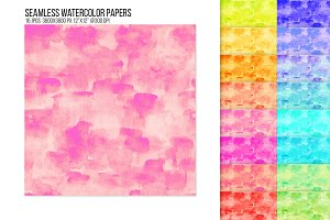 Seamless Watercolor paper backdrop
