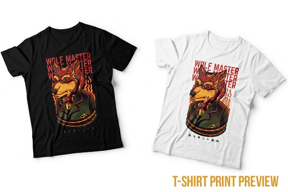 Wolf Master Illustration in Illustrations - product preview 4