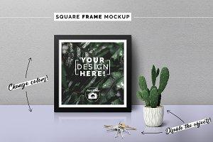 Square Frame Mockup