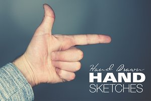 Hand-drawn Hand Sketch Vector Art