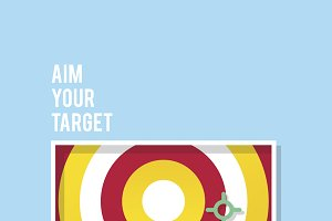Aim your target quote