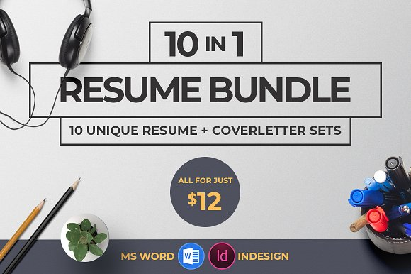 10 In 1 Resume Bundle