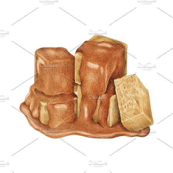 Illustration Of Caramel Candy