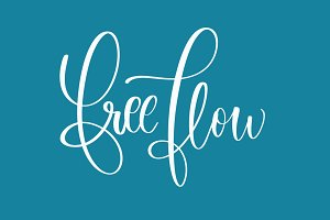 Free Flow Procreate Brush
