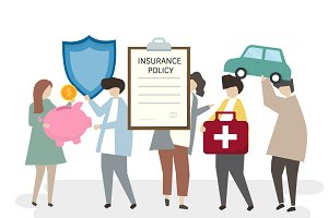 Illustration of insurance policy