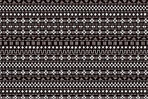 Mudcloth geometric seamless pattern