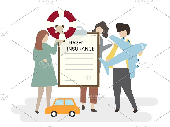 Illustration Of Travel Insurance