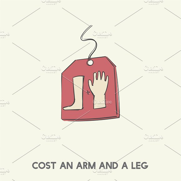 Cost An Arm And A Leg