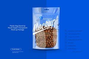 Plastic Bag Transparent PouchZipper