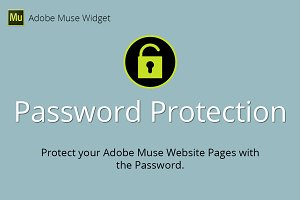 Password Protection Muse Widget