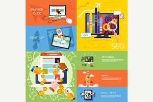 Start up, Pay Per Click and Seo