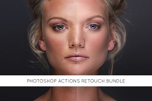 32 Photoshop actions retouch bundle