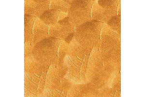 Golden painted texture. Hand drawn background. Vector Illustration.