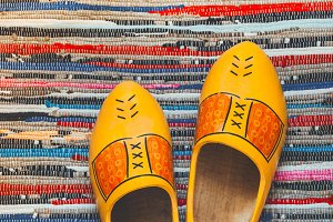Wooden shoes from the Netherlands