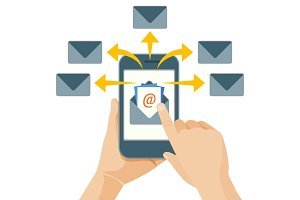 Email marketing act of sending commercial messages to people