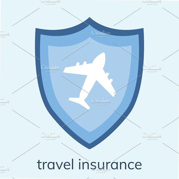 Illustration Of A Travel Insurance