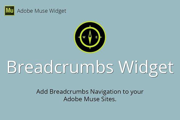 Breadcrumbs Adobe Muse Widget