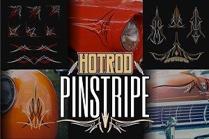 Hotrod Pinstripe Design Element