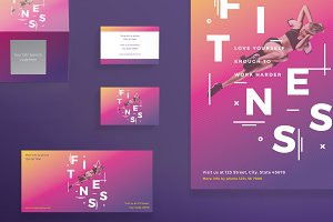 Print Pack | Fitness Training Gym