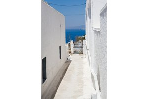 Santorini island, viewpoint from Oia village, Santorini, Greece
