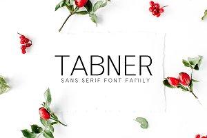 Tabner Sans Serif 6 Font Family
