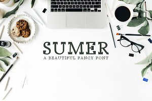 Sumer Fancy 3 Font Family