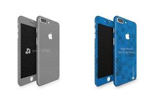 iPhone 8 Plus Vinyl Skin Mockup