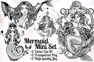 Mermaid Mini Set