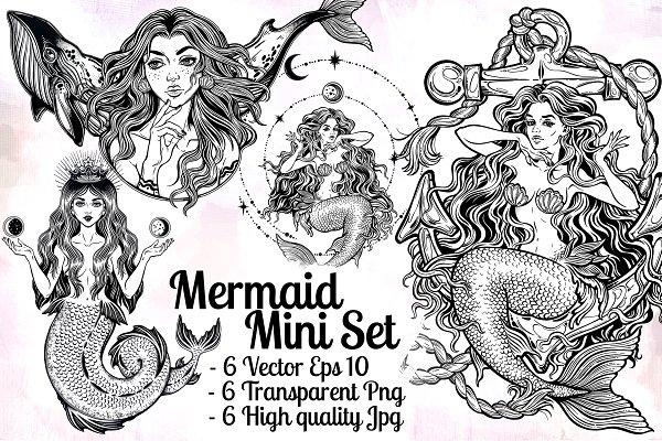 Mermaid Mini Set