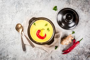 Indian food, Gujarati Kadhi