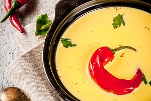 Indian food, Gujarati Kadhi