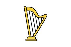 Harp color icon