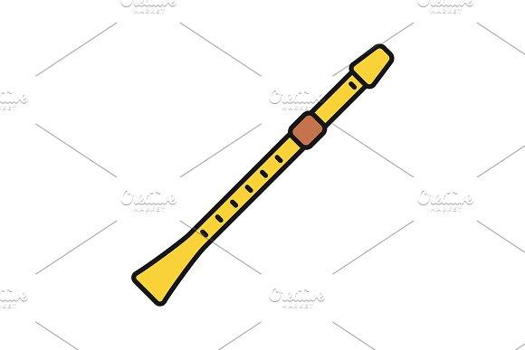 Flute Color Icon