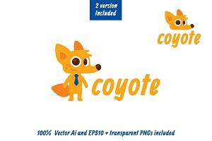 Coyote Logo Mascot