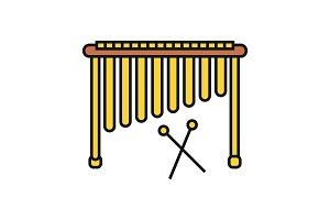 Marimba color icon