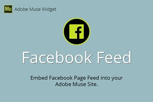 Facebook Feed Adobe Muse Widget