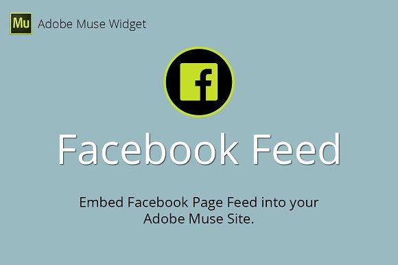 Facebook Feed Adobe Muse Widget