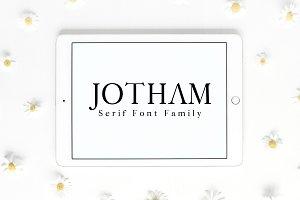 Jotham Serif 4 Font Family Pack