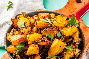 Indian food, Bombay Potatoes