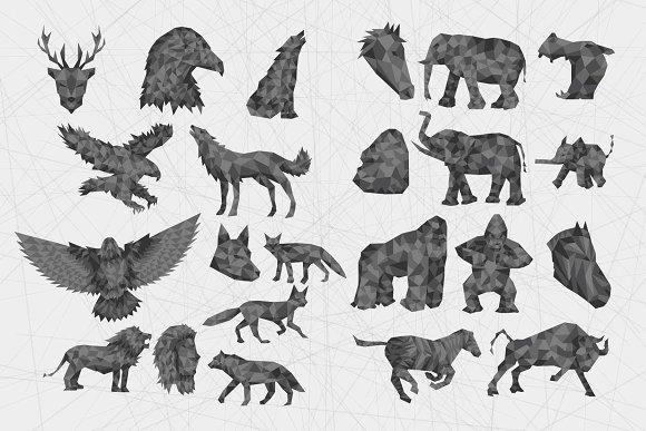 94 Geometric Animals