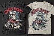 Shark Rider T-Shirt design