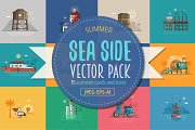 Summer Sea Side Cards and Designs