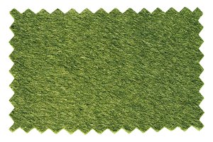 Synthetic grass swatch