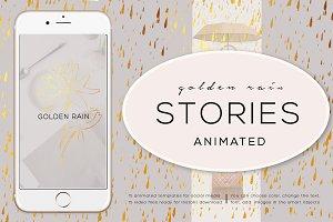 ANIMATED STORIES. GOLDEN RAIN.