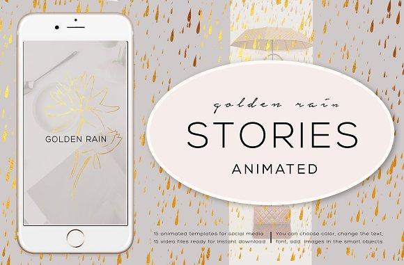 ANIMATED STORIES GOLDEN RAIN