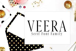 Veera Serif 4 Font Family Pack