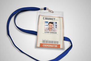 Multipurpose retro ID BADGE