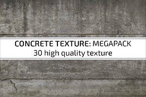 30 Concrete Textures Pack